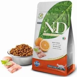 N&D - N&D Tahılsız Balıklı Ve Portakallı Yetişkin Kedi Maması