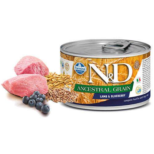 N&D Low Grain Kuzulu Yaban Mersinli Küçük Irk Yetişkin Köpek Konservesi
