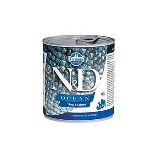 N&D Ocean Alabalık Ve Somon Balıklı Yetişkin Köpek Konservesi