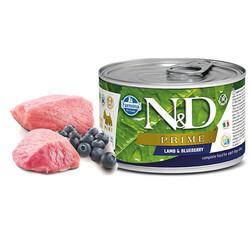 N&D - N&D Prime Kuzulu Yaban Mersinli Mini Irk Yetişkin Köpek Konservesi