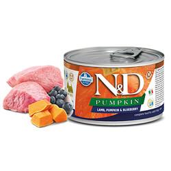 N&D - N&D Pumpkin Kuzulu Yaban Mersinli Küçük Irk Yetişkin Köpek Konservesi