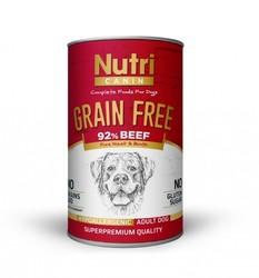 Nutri - Nutri Canin G.F. Beef Sweet Potatoes Yetişkin Köpek Konservesi