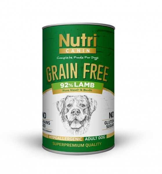 Nutri Canin Tahılsız Lamb Sweet Potatoes Yetişkin Köpek Konservesi