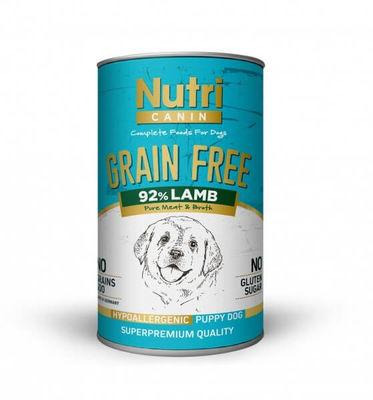 Nutri Canin Tahılsız Puppy Lamb Sweet Potatoes Köpek Konservesi