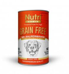 Nutri - Nutri Canin Tahılsız Salmon&Duck Sweet Potatoes Yetişkin Köpek Konservesi