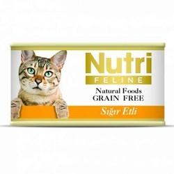 Nutri - Nutri Feline Tahılsız Sığır Etli Yetişkin Kedi Konservesi