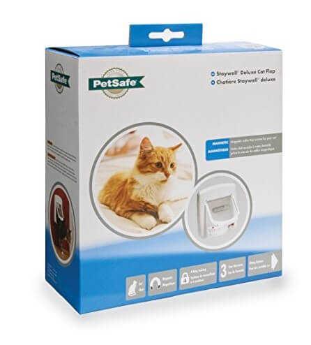 Pet Safe Staywell Manuel Delux 4 Yönlü Kedi Kapısı Beyaz