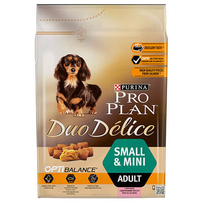 Pro Plan - Pro Plan Duo Delice Small Mini Somonlu Yetişkin Köpek Maması