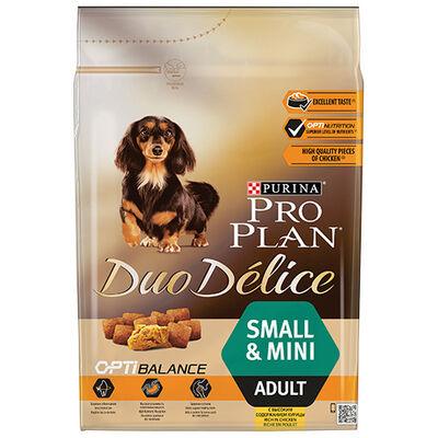 Pro Plan Duo Delice Small Yetişkin Küçük Irk Tavuklu Köpek Maması