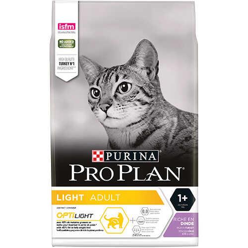 Pro Plan Light Turkey Rice Düşük Kalorili Kuru Kedi Maması