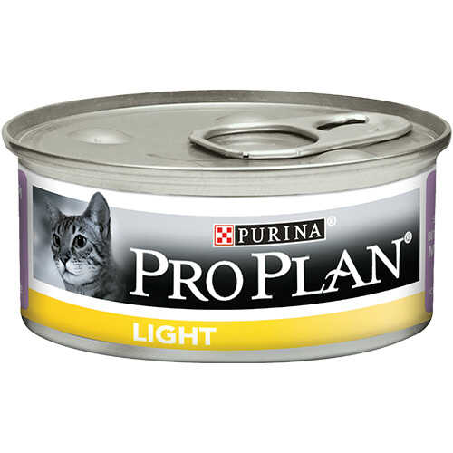 Pro Plan Yetişkin Light Hindili Kedi Konservesi