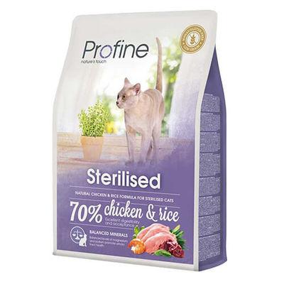 Profine - Profine Sterilised Tavuklu Ve Pirinçli Kısırlaştırılmış Yetişkin Kedi Maması