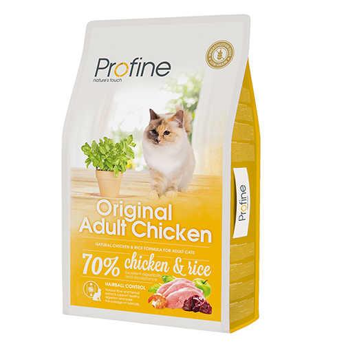 Profine Tavuklu Pirinçli Yetişkin Kuru Kedi Maması