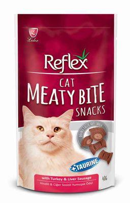 Reflex - Reflex Cat Meaty Bite Sanck Ördekli Peynirli Kedi Ödülü