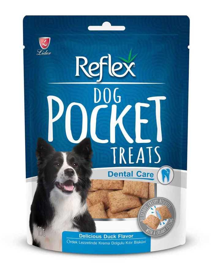 Reflex Köpek Diş Sağlığı İçin Pocket Ördekli Köpek Ödülü