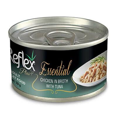 Reflex Plus Essential Tavuk Ve Ton Balıklı Yetikin Kedi Konservesi