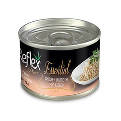 Reflex Plus - Reflex Plus Essential Tavuklu Yavru Kedi Konservesi