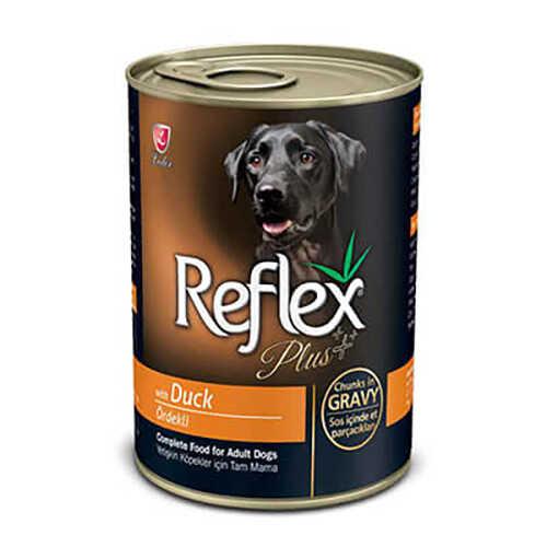Reflex Plus Ördekli Soslu Et Parçacıklı Yetişkin Köpek Konservesi