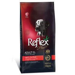 Reflex Plus - Reflex Plus Orta Büyük Irk Light Sterilised Köpek Maması