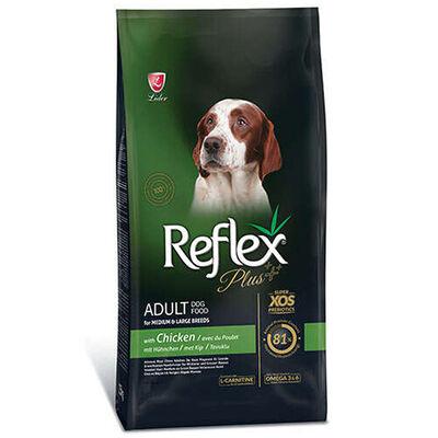 Reflex Plus - Reflex Plus Orta Büyük Irk Tavuklu Yetişkin Köpek Maması