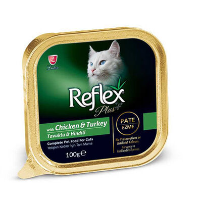 Reflex Plus Tavuk Ve Hindili Pate Yetişkin Kedi Konservesi