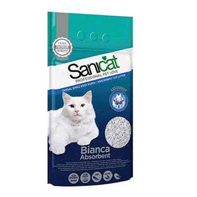 Sanicat Bianca Absorbent Doğal Emici Kedi Kumu