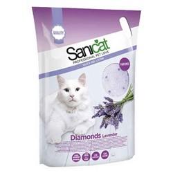 SaniCat - Sanicat Lavanta Kokulu Silica Kristal Kedi Kumu