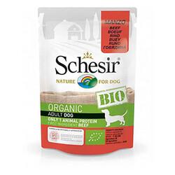 Schesir - Schesir Bio Range Biftekli Pouch Yetişkin Köpek Konservesi