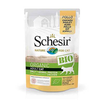 Schesir - Schesir Bio Range Tavuklu Pouch Yetişkin Kedi Konservesi