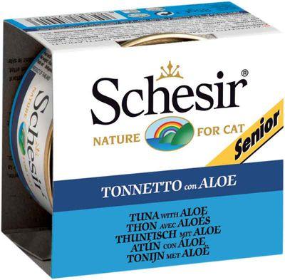 Schesir - Schesir Ton Balıklı Yaşlı Kedi Konservesi