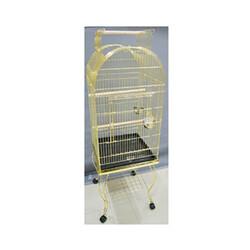 Sehpalı Gold Papağan Kafesi - Thumbnail