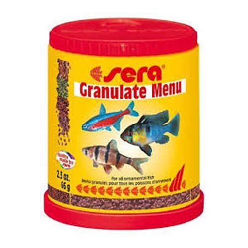 Sera Balık Granül Yem Menüsü