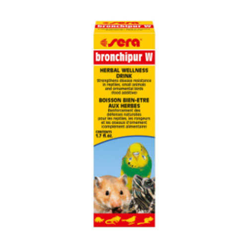 Sera Bronchipur W Kuş-Kemirgen-Sürüngen Bağışıklık Güçlendirici