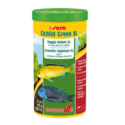 Sera - Sera Cichlid Green XL Otçul Cichlid Balık Yemi