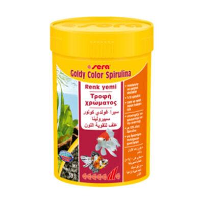 Sera Goldy Color Spirulina Balık Yemi