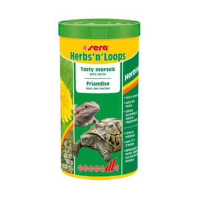 Sera - Sera Herbs N Loops Bitkilerle Lezzetli Lokmalar Kaplumbağa Yemi