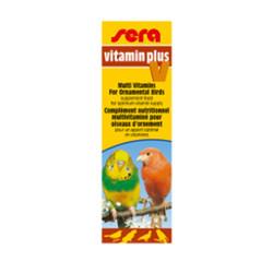 Sera - Sera Vitamin Plus V Kuşlar İçin Multivitamin