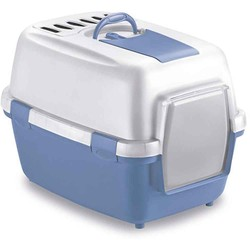 Stefanplast - Stefanplast Cathy Comfort Kapalı Kedi Tuvaleti Filtreli