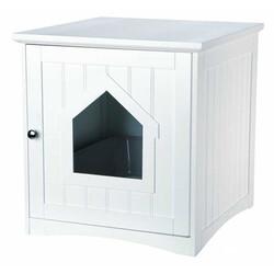 Trixie - Trixie Kedi Tuvalet Evi,Beyaz