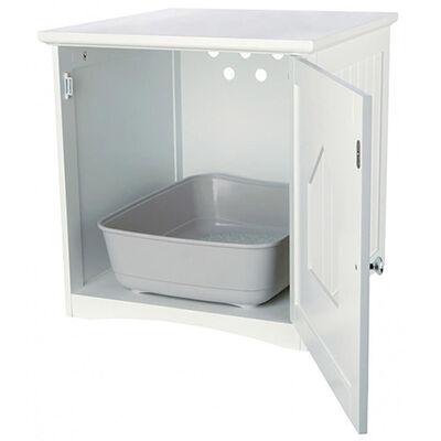 Trixie Kedi Tuvalet Evi,Beyaz