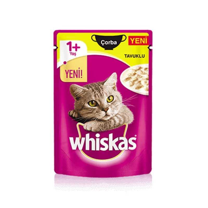 Whiskas Pouch Tavuklu Çorba